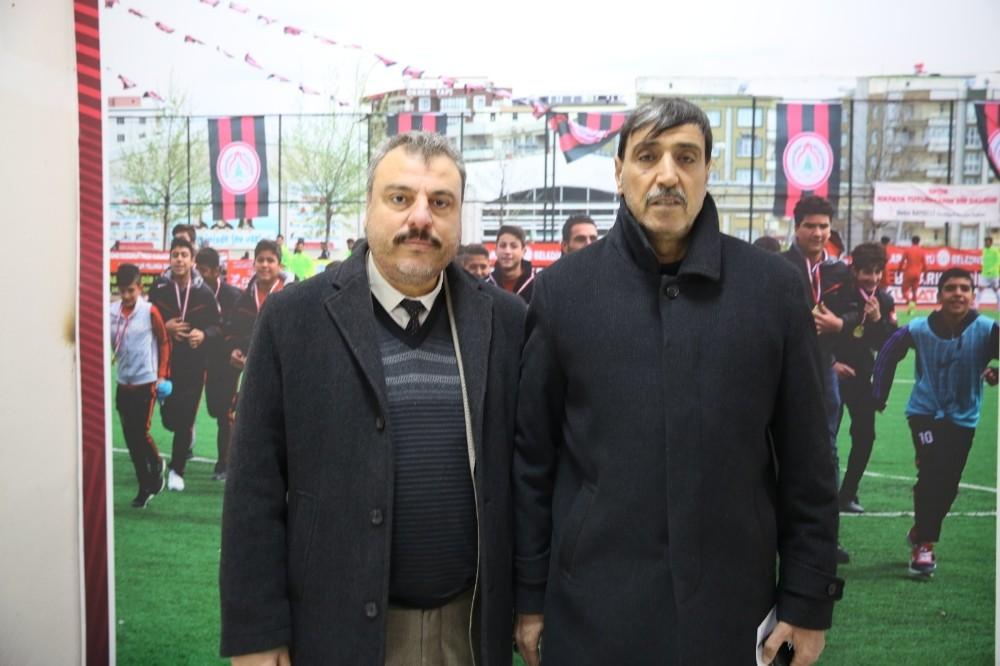 Karaköprüspor Başkanı Kayral açıklamalarda bulundu