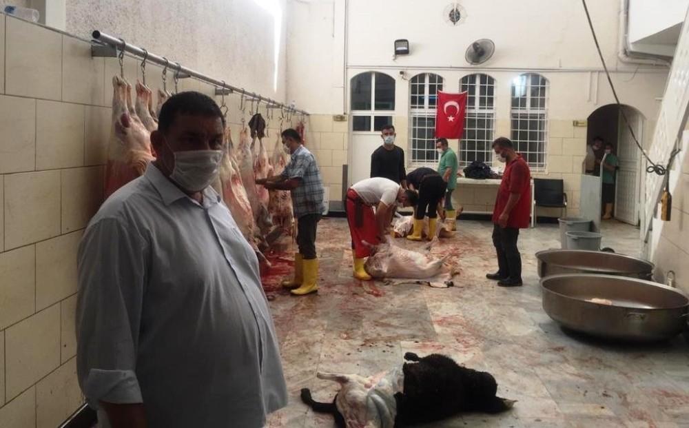 Şanlıurfalı ihtiyaç sahibi ailelere 600 kurbanlık
