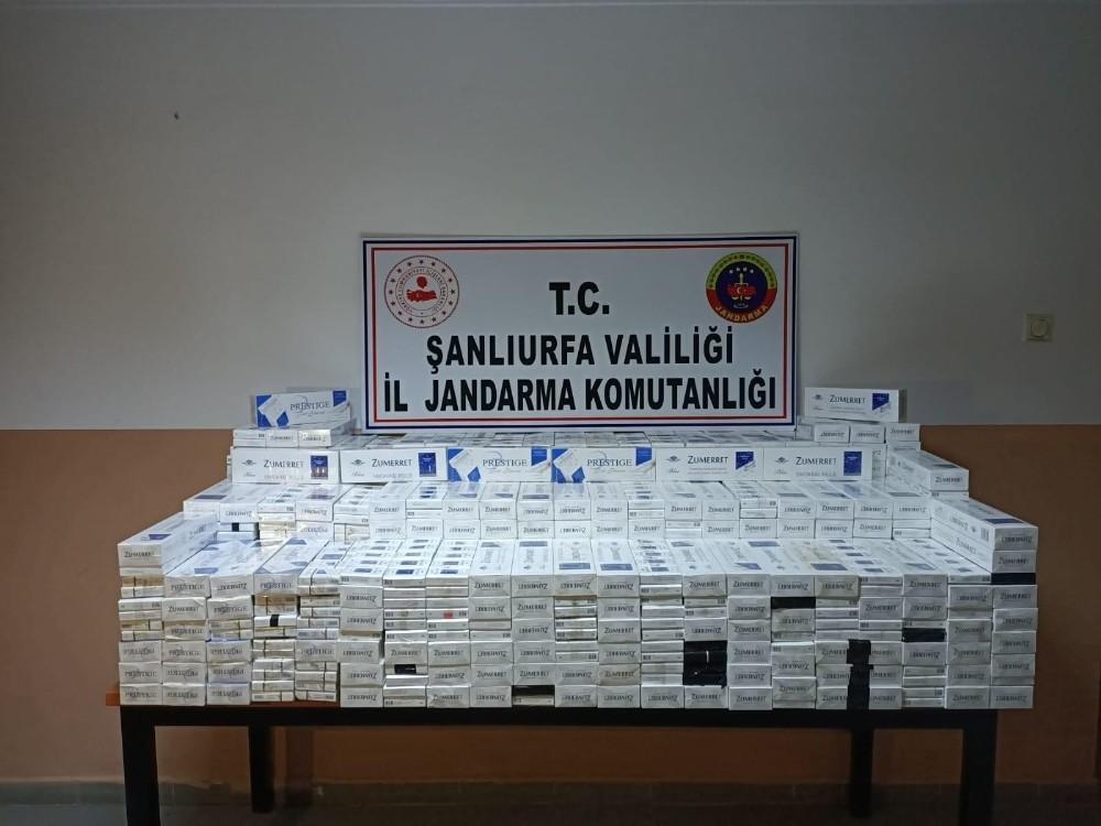 Şanlıurfa'da 5 bin 230 paket kaçak sigara ele geçirildi
