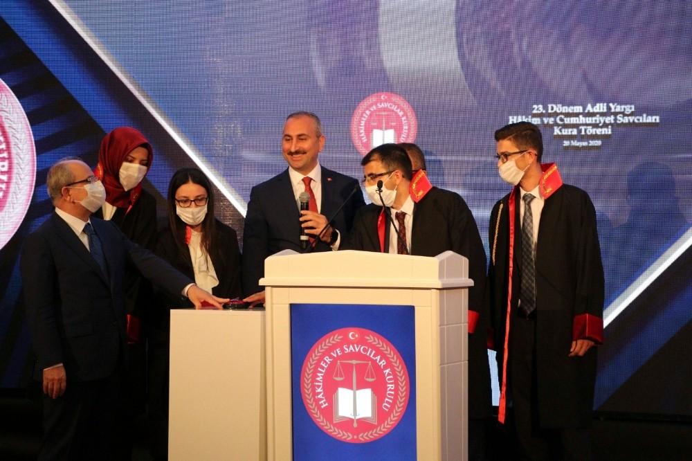 Bakan Gül: ″Toplumun sizden adalet gibi çok önemli bir beklentisi olacak″