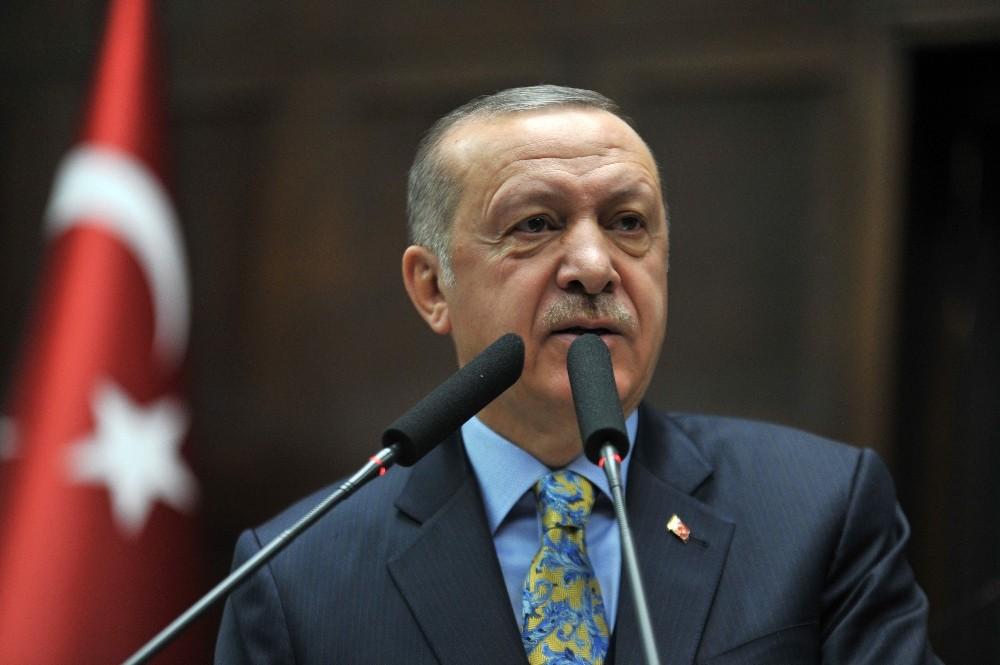 """Cumhurbaşkanı Erdoğan: """"Trump, Amerikan askerlerinin Suriye'den çekilme kararını bir kez daha teyit etti"""""""