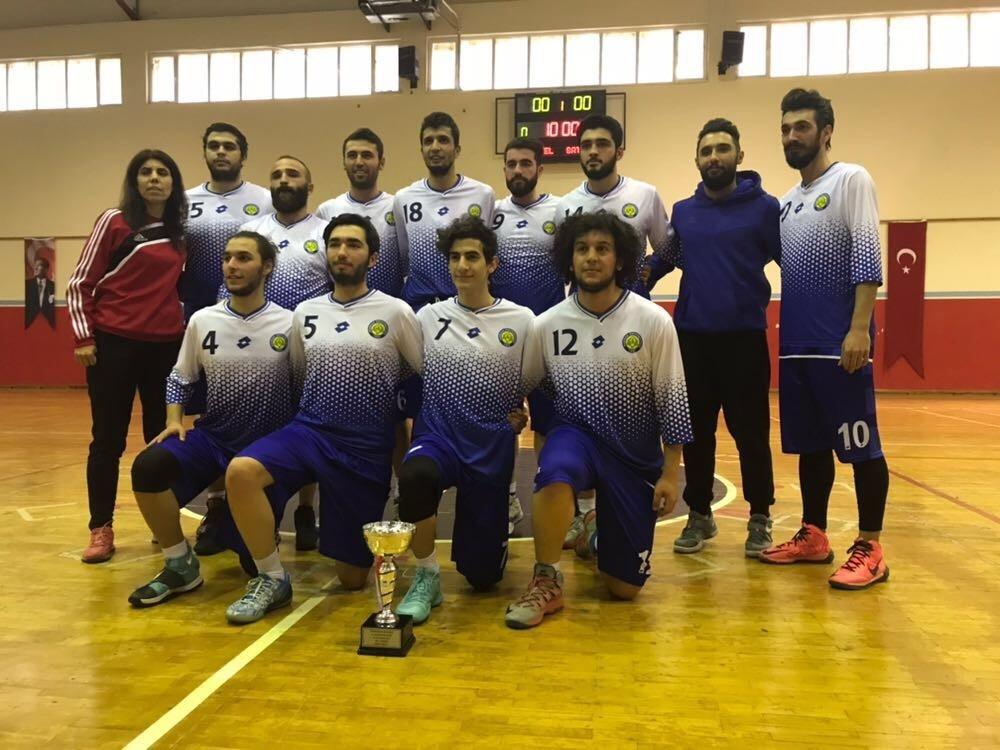 Harran Üniversitesi Basketbol Takımı 1. Lig'de