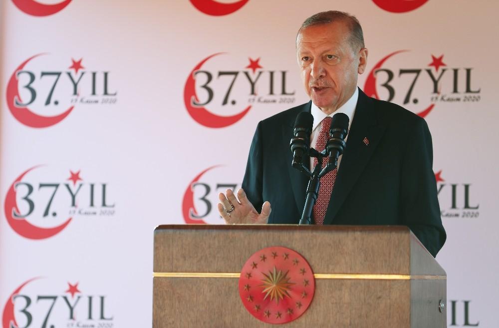 Cumhurbaşkanı Erdoğan: ″Doğu Akdeniz'de ülkemizin ve KKTC'nin yer alamadığı hiçbir denklem barış üretemez″