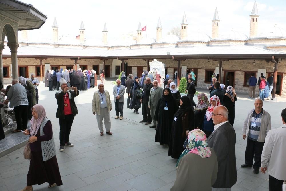 Yeşeren çınarlar Konya'da