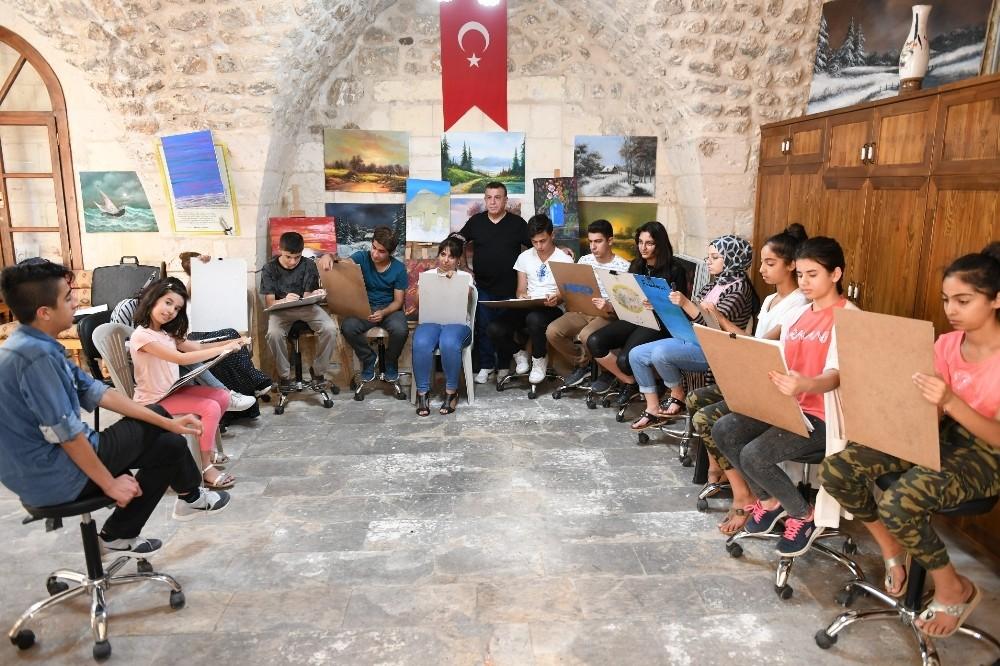 Şanlıurfa'da gençler yetenek sınavlarına hazırlanıyor