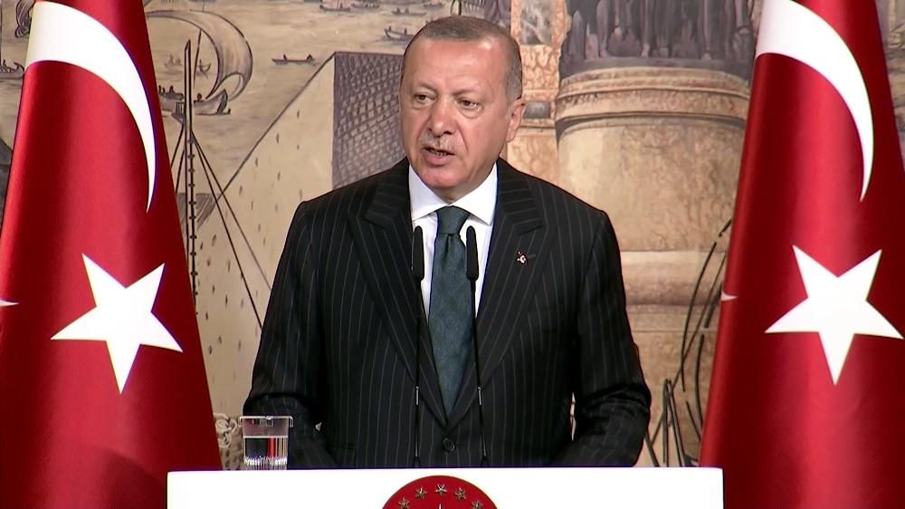 Cumhurbaşkanı Erdoğan: ″Kalemini terör örgütleri emrine verenler bizim nezdimizde asla gazeteci olamazlar″