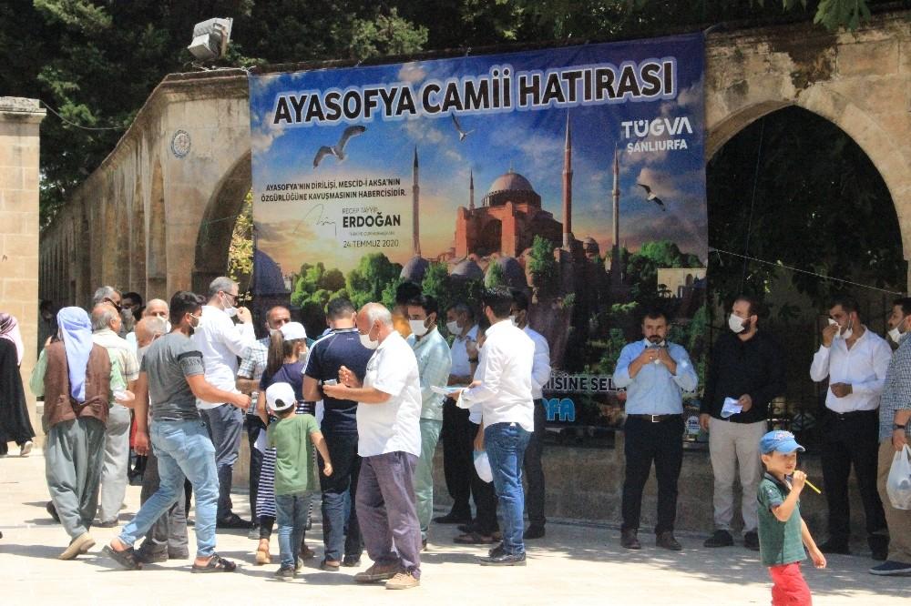 Şanlıurfa'da Ayasofya hatırası