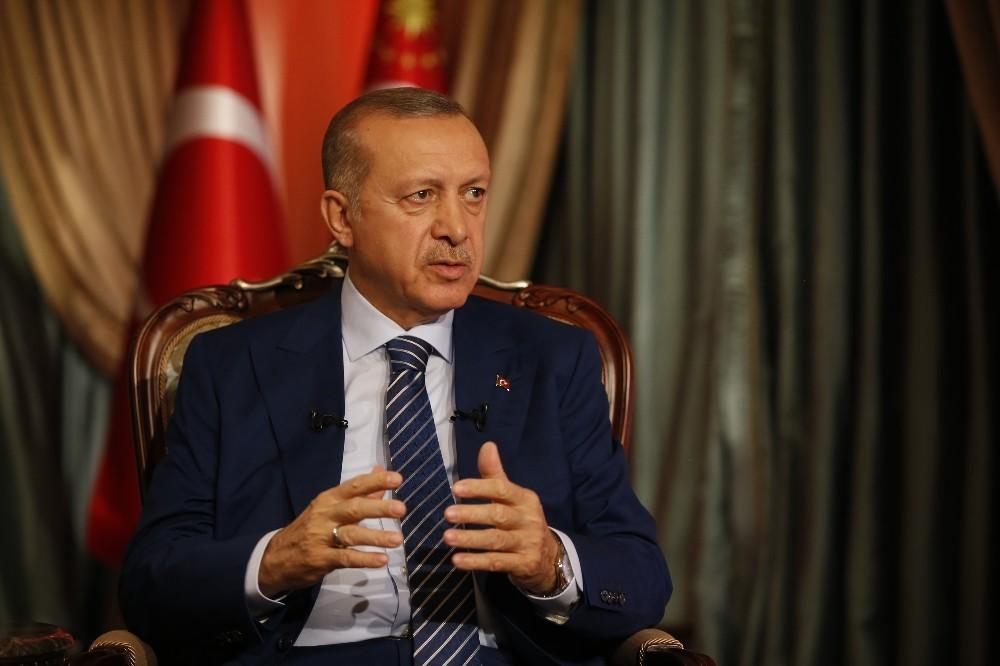 """Cumhurbaşkanı Erdoğan: """"Birinci turda biteceği çok açık görünüyor"""""""