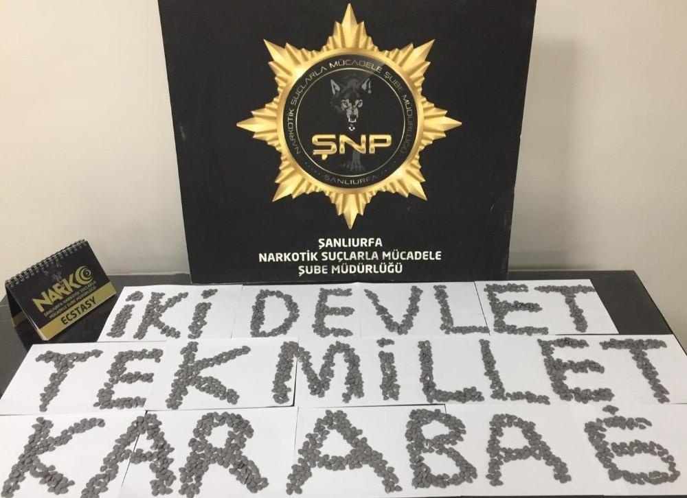 Şanlıurfa'da uyuşturucu operasyonunda 3 tutuklama