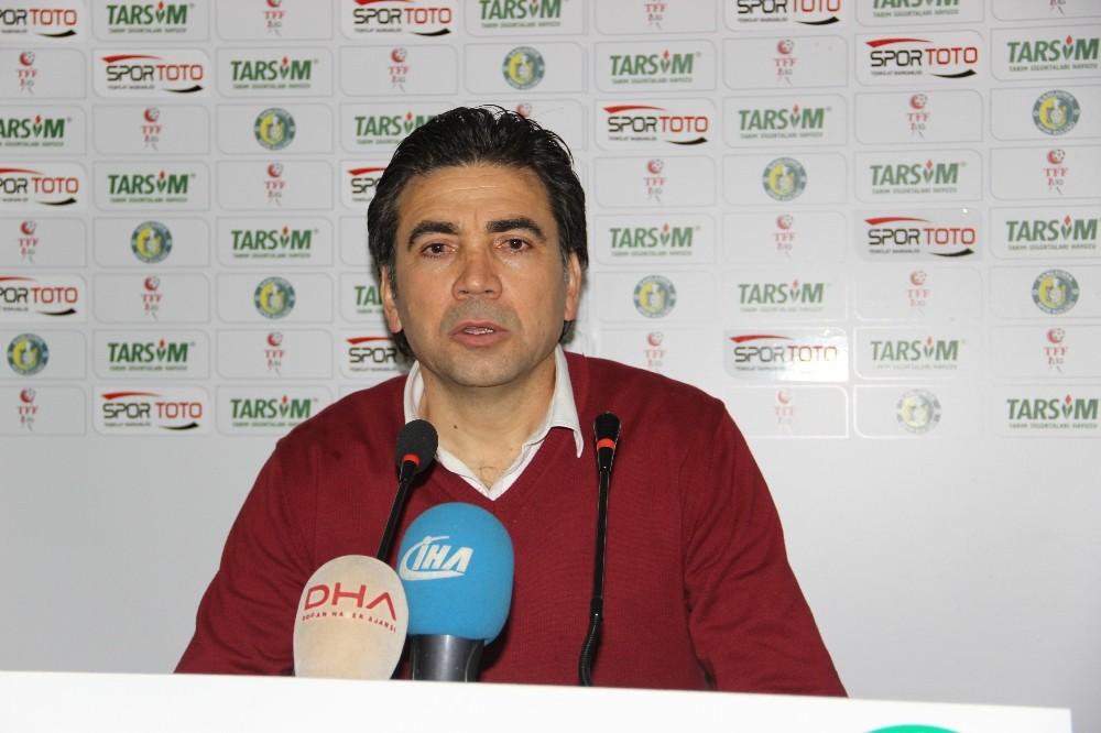 Şanlıurfaspor - Samsunspor maçının ardından