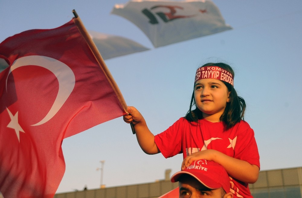 Cumhurbaşkanı Erdoğan: ″Hiçbir darbe, darbe girişimi yapanların yanına kar kalmadı″