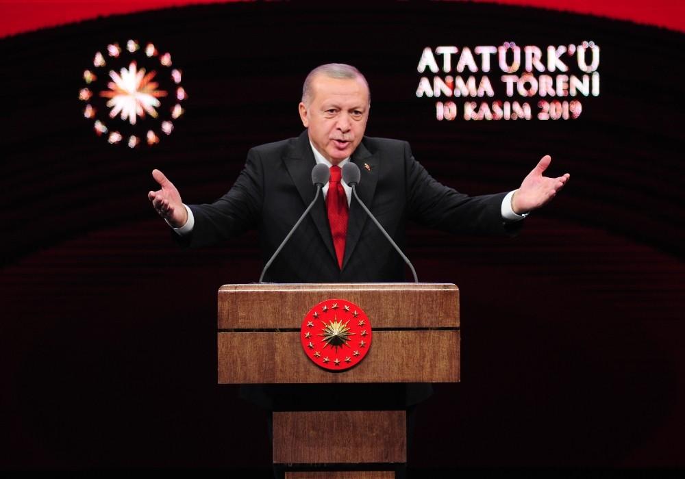 Cumhurbaşkanı Erdoğan: ″Ülkemizde yıllardır en büyük ticaret Atatürk ve Cumhuriyet ticaretidir″