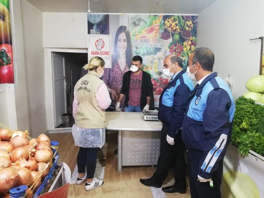 Şanlıurfa'da hafta sonu gıda ve hijyen denetimi