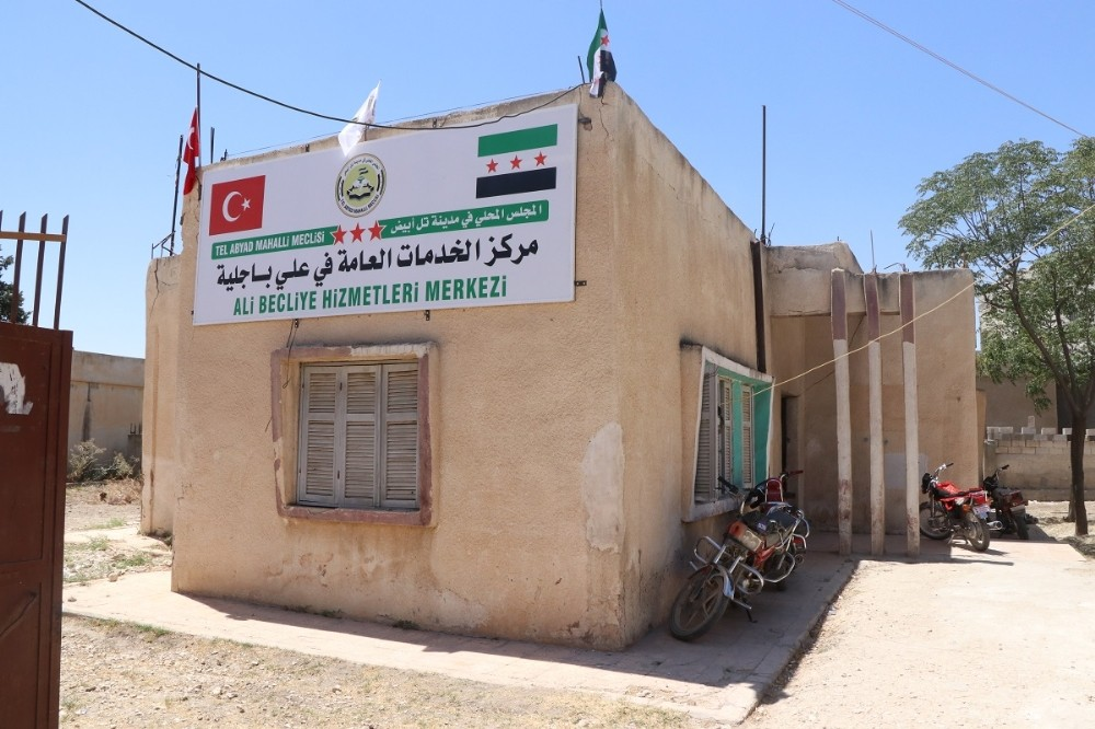 Tel Abyadlılar kamu hizmetleri ile tanışıyor