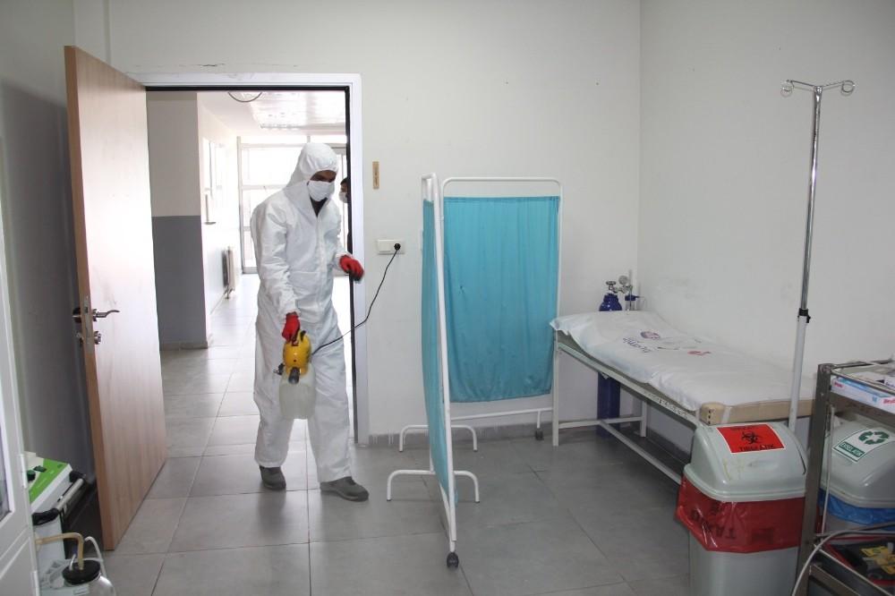 Eyyübiye'de aile sağlık merkezleri arındırıldı
