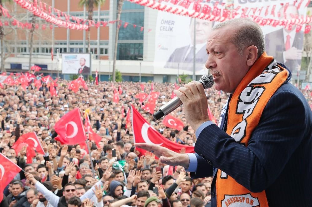 Cumhurbaşkanı Erdoğan: ″Ezan ve bayrak düşmanlarıyla sonuna kadar mücadele edeceğiz″ (1)