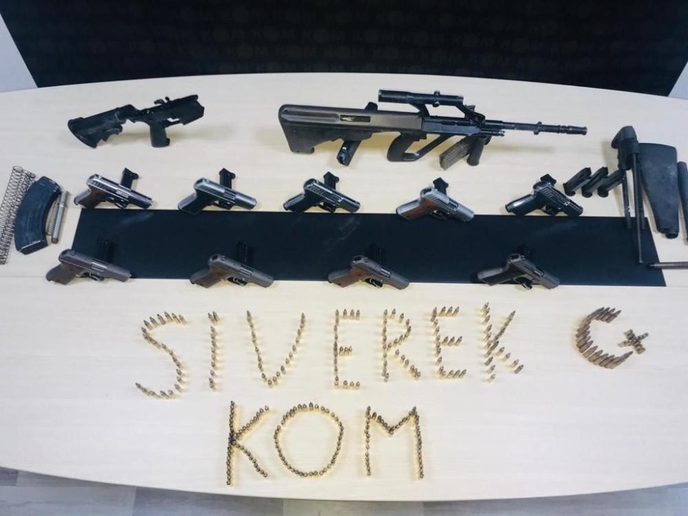 Siverek'te silah kaçakçılarına yönelik operasyon: 2 gözaltı