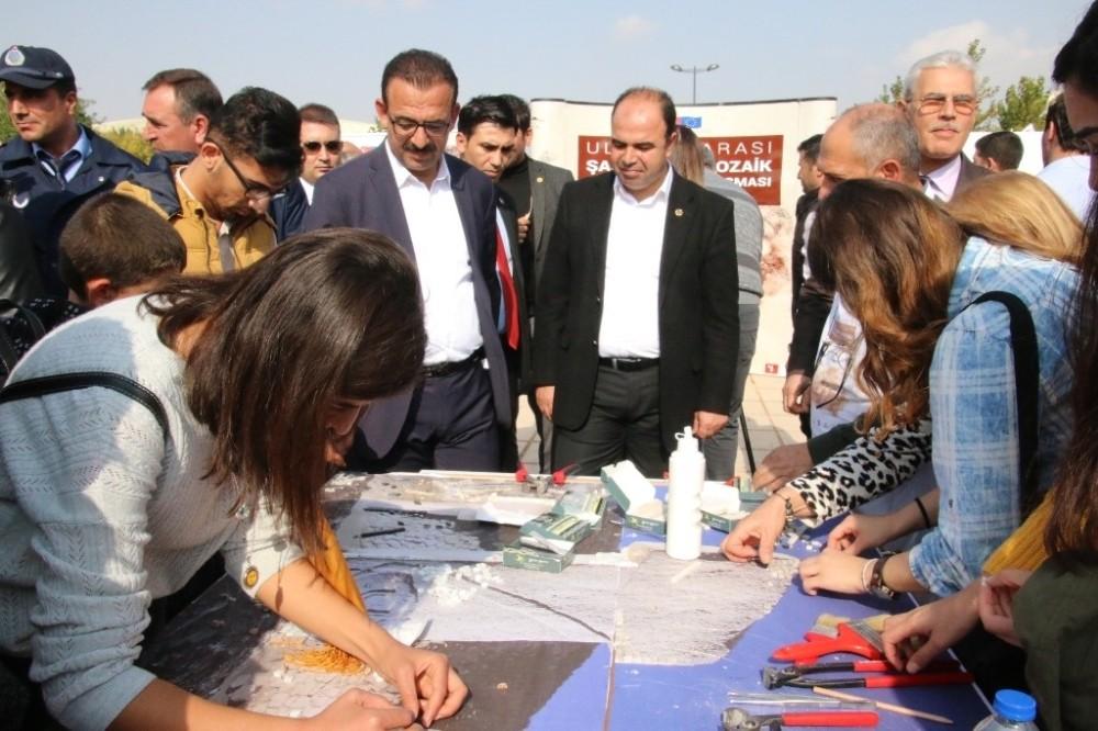 Şanlıurfa'daki mozaik çalıştayı devam ediyor