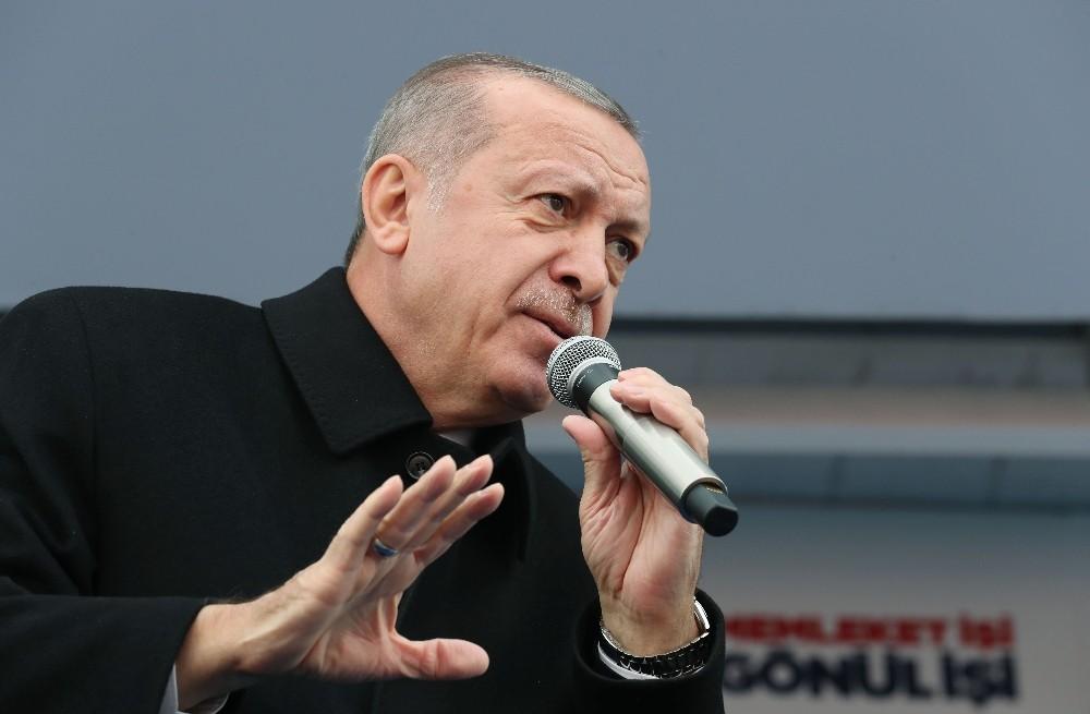 """Cumhurbaşkanı Erdoğan: ″Türkiye üzerindeki hesapları dün ne ise unutmayın bugün de aynı"""""""
