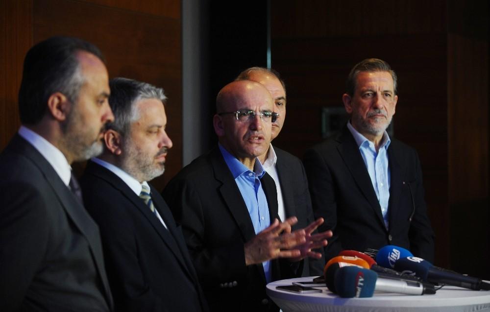 Başbakan Yardımcısı Mehmet Şimşek: ″Türkiye'ye ilişkin endişe yok″