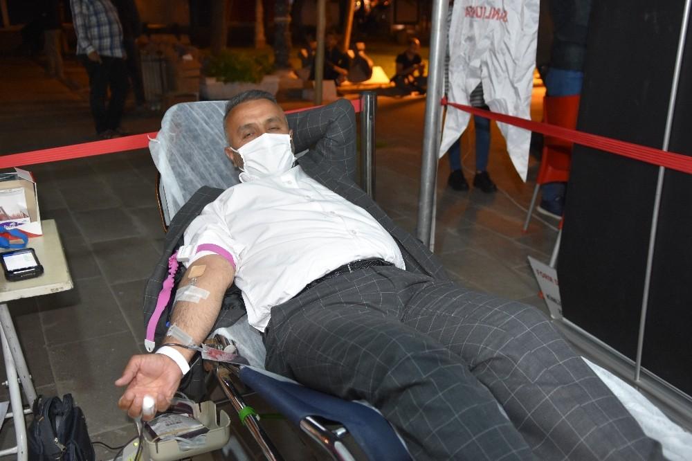 Siverek'te tükenen kan stokları nedeniyle bağış kampanyası başlatıldı