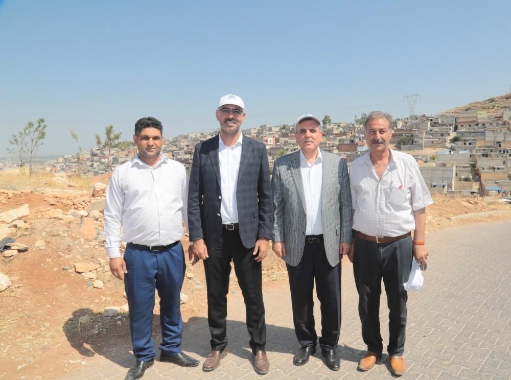 Eyyübiye'ye yeni parklar yapılıyor