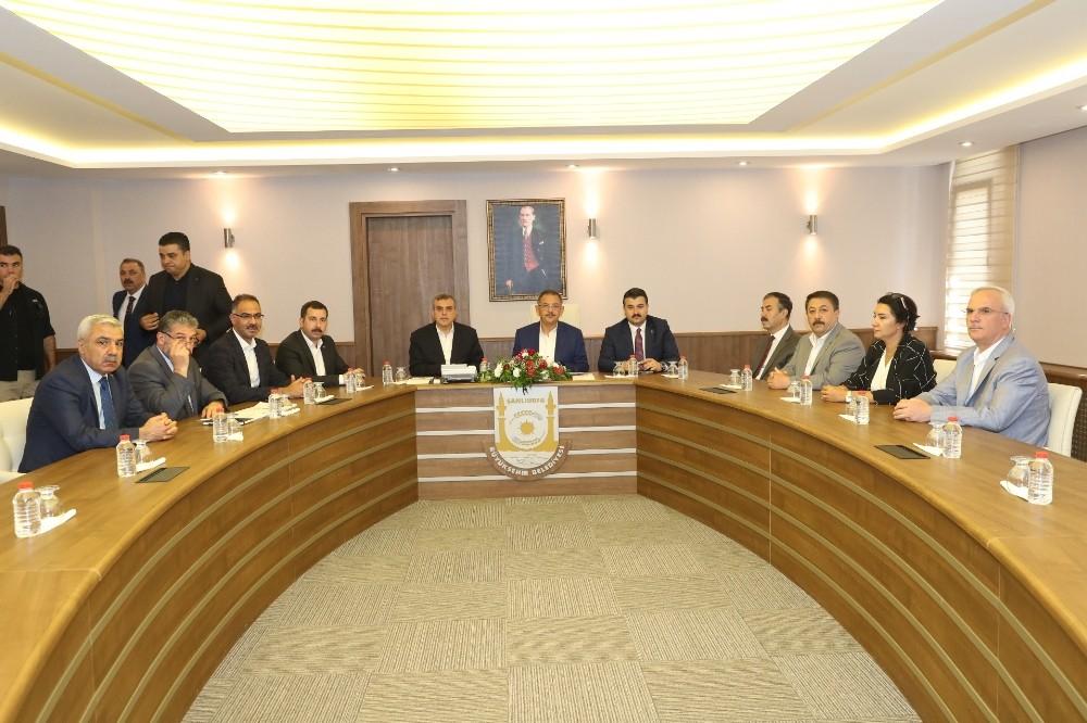 Yerel yönetimler istişare ve değerlendirme toplantısı Şanlıurfa'da