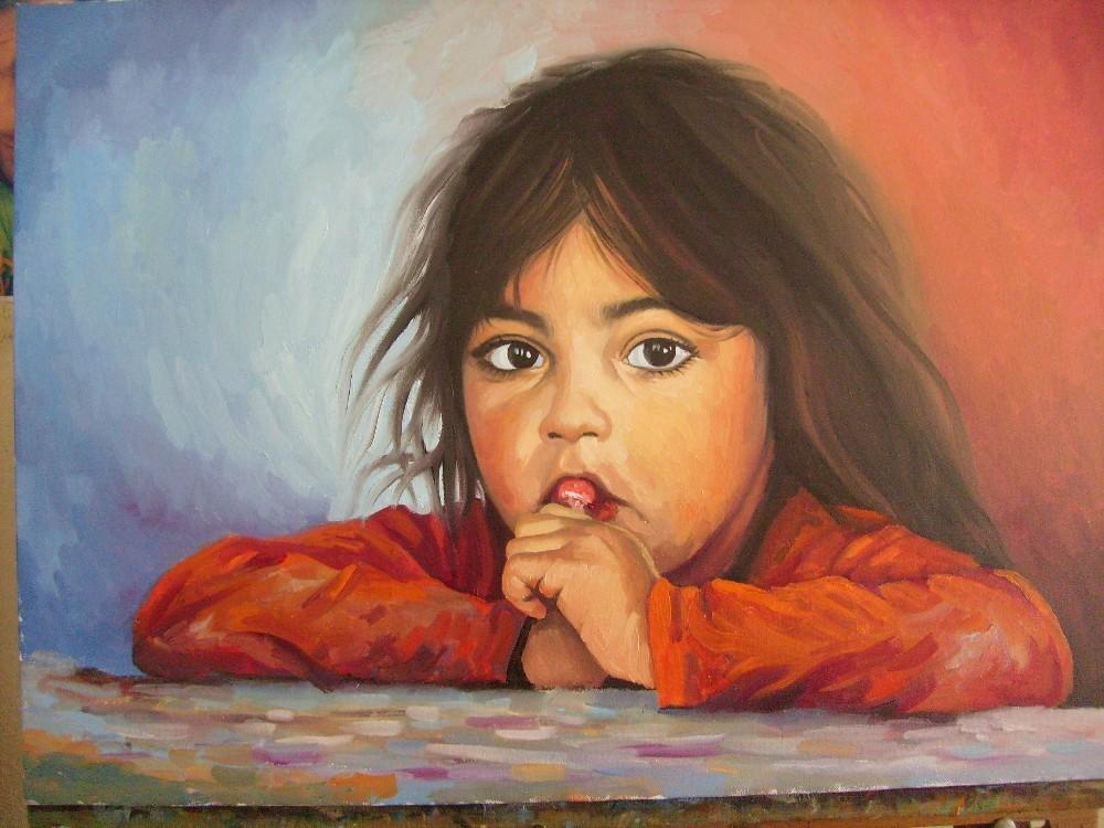 """Şanlıurfalı ressamdan """"Yüzler ve hayatlar"""" sergisi"""