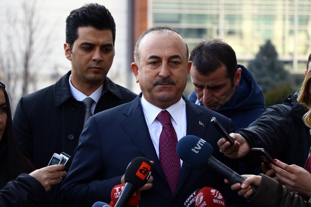 Bakan Çavuşoğlu, Fransa'ya sert uyarı