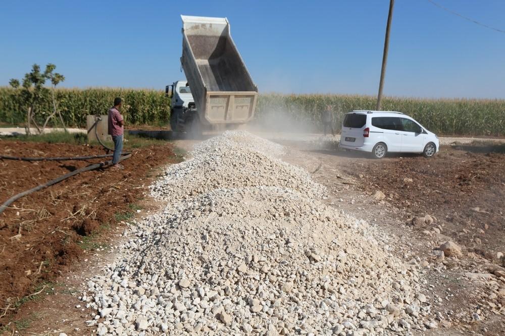 Haliliye'de yeni yol açma çalışmaları