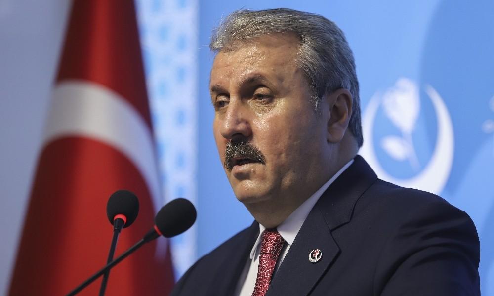 """BBP Genel Başkanı Destici: """"24 Temmuz, inşallah Fatih Sultan Mehmet Han'ın ruhunun sevindirileceği bir gün olacak"""""""