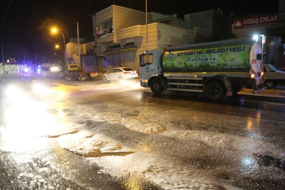 Eyyübiye'de korona virüs mücadelesi sürüyor