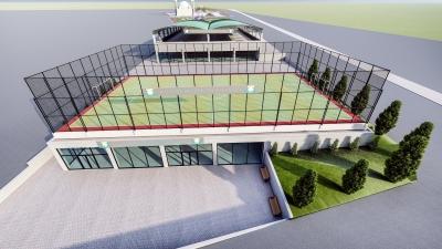 Ahmet Yesevi Spor Kompleksi İhalesi Yapıldı