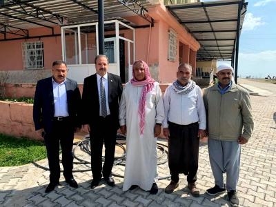 Ak Parti Şanlıurfa Milletvekili Halil Özcan Viranşehir'de