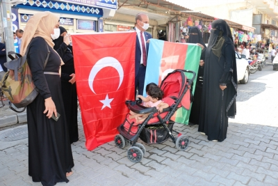 AKÇAKALE BELEDİYE BAŞKANI'NDAN AZERBAYCAN'A DESTEK!
