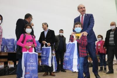 Akçakale'de çölyak hastalarına gıda desteği