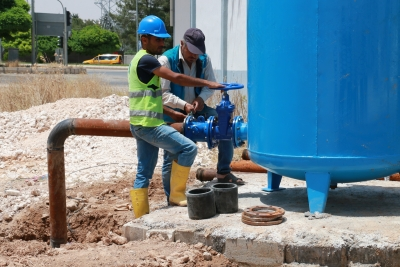 Akçakale'deki Su Sorunu Çözüldü