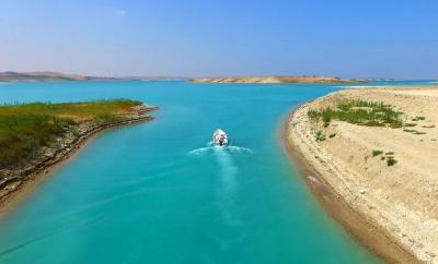 Atatürk Barajı'nda Avlak Alanlar Belirleniyor