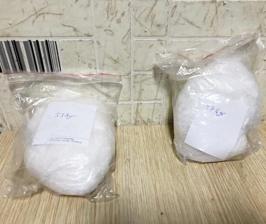 İç çamaşırına gizlenen 712 gram uyuşturucu ele geçirildi