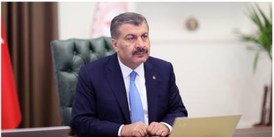 Bakan Koca, Türkiye 150'den fazla ülkeye yardım elini uzattı