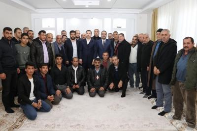 Başkan Adayı Baydilli Seyrantepe'de Vatandaşlarla Buluştu