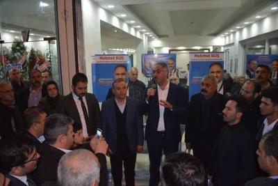 Başkan Adayı Kuş Eyyübiye'de Rakip Tanımıyor