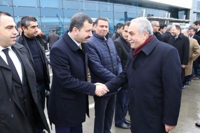 Başkan Baydilli den Bakan Fakıbaba'ya Kredi Teşekkürü