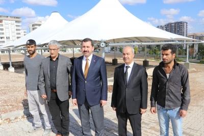 Başkan Baydilli'den Akpiyar'a Semt Pazarı Müjdesi