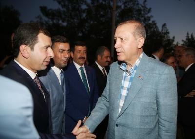Başkan Baydilli'den Cumhurbaşkanı Erdoğan'a Teşekkür
