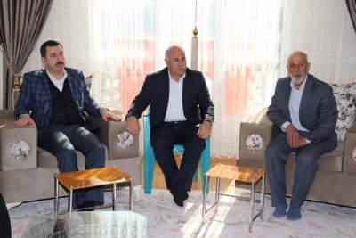Başkan Baydilli'den Şehit Ailesine Ziyaret