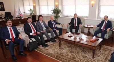 Başkan Canpolat Ankara'da Göbeklitepe'yi Konuştu