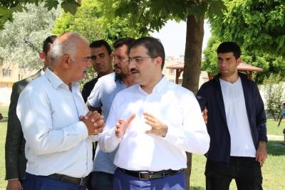 Başkan Canpolat Süleymaniye'de İhtiyaçları Yerinde Tespit Etti