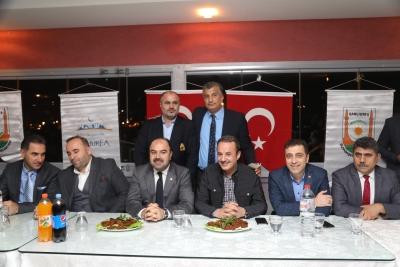 Başkan Çiftçi İzmir'de Hemşerleri İle Buluştu