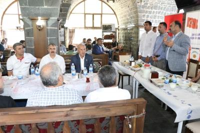 Başkan Çiftçi Muhtarların Talep Ve Önerilerini Dinledi